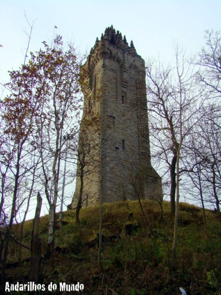 Monumento a William Wallace em Stirling Escócia