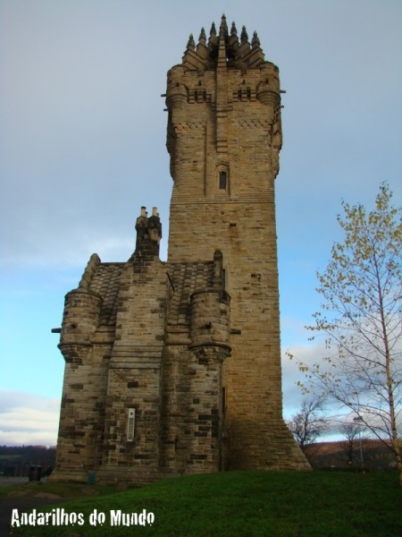 Lowlands Escócia Stirling - William Wallace Monument