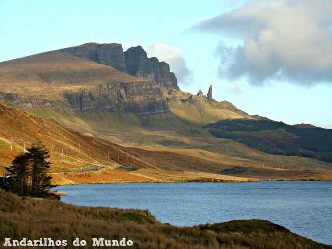 Old Man of Tor Ilha de skye Escócia