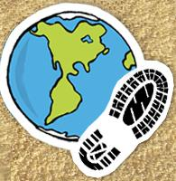 """Andarilhos do Mundo"" Avatar Logo"