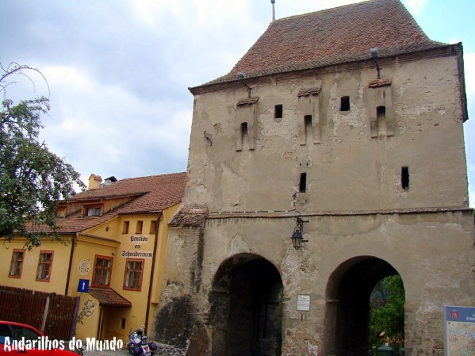 Pension am Schneiderturm tailors tower sighisoara