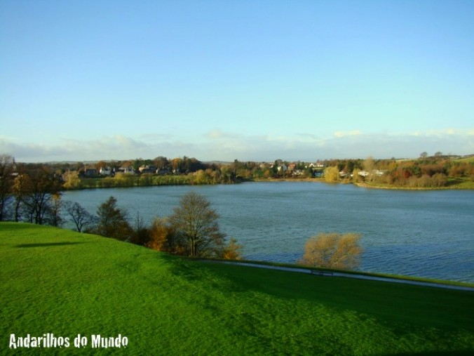 Vista do alto do Linlithgow Palace