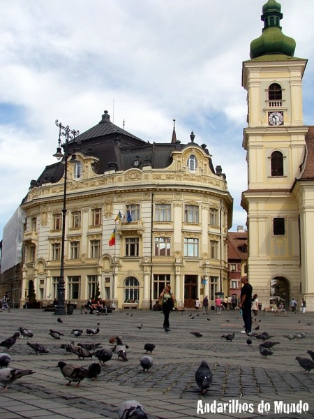 Sibiu Romênia Council Tower