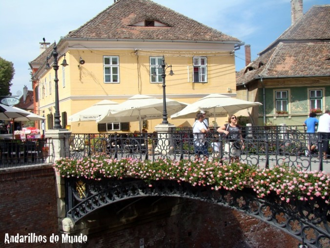 Sibiu Romênia - Iron Bridge