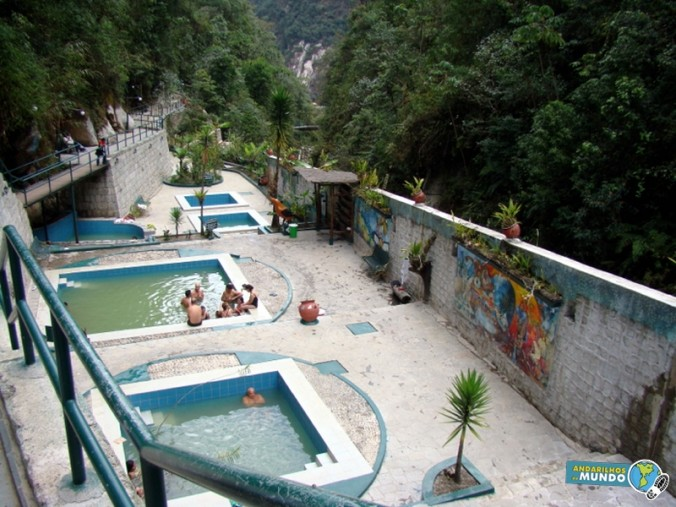 Aguas Calientes as termas