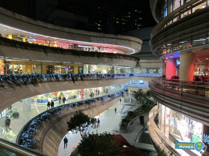 Shopping Kanyon Mall Istambul Turquia