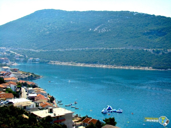 Vista do Hotel em Neum Bosnia