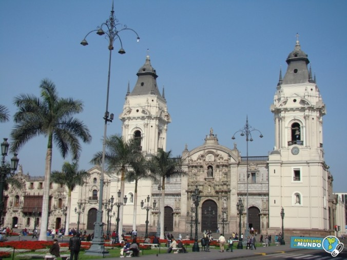 Plaz Mayor Lima Peru