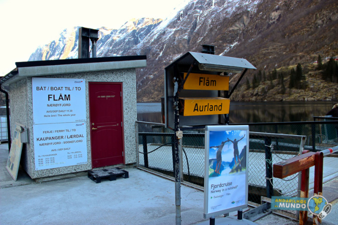 Norway in a Nutshell Barco para Flam