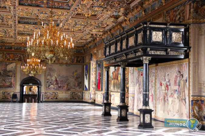 Interior do Frederiksborg Hillerod