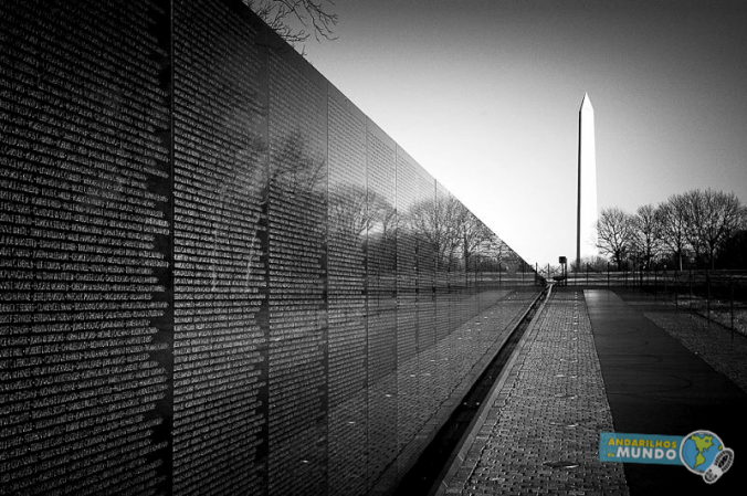 Vietnam Memorial e Obelisco day trip em Washington-2