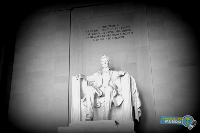 day trip em Washington Estatua de lincoln-2